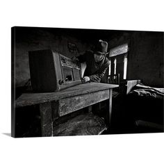 Canvas On Demand Do You Remember Rock and Roll Radio? by Mario Grobenski Photographic Print on Canvas Size: