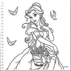 Coloring Page 2018 for Princesas Disney Para Colorear, you can see Princesas Disney Para Colorear and more pictures for Coloring Page 2018 at Children Coloring. Mickey Mouse Coloring Pages, Disney Princess Coloring Pages, Disney Princess Colors, Disney Colors, Coloring Sheets For Kids, Cute Coloring Pages, Adult Coloring, Coloring Books, Disney Images