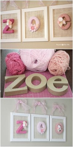 Learn How To Make Gorgeous Yarn Wrapped Letters You will love to learn how to make Yarn Wraped Letters and we have lots of cute examples and a video tutorial to show you how. Published January 2019 Learn How To Make Gorgeous Yarn Wrapped Letters Kids Crafts, Crafts To Sell, Home Crafts, Diy And Crafts, Craft Projects, Arts And Crafts, Craft Ideas, Crafts With Yarn, Baby Crafts To Make