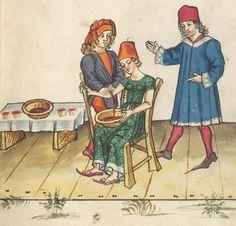 c.1471 Allemagne Ms. germ. qu. 12 - Die sieben weisen Meister Digitale Sammlungen Frankfurt