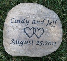 Oathing Stone Custom Engraved Wedding Stone Inch Oath Stone Touch Stone Oathing Stone Custom E First Wedding Anniversary Gift, Anniversary Gifts For Parents, Wedding Day Gifts, Personalized Anniversary Gifts, The Wedding Date, Anniversary Ideas, Wedding Ceremony, Unique Engagement Gifts, Custom Engraving