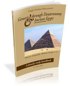 Bible, history, geography lesson plans for whole family. Module 1. Other books needed to go with it.History: Genesis—Deuteronomy; Ancient Egypt    Geography: Egypt and Africa    Bible: Genesis—Deuteronomy
