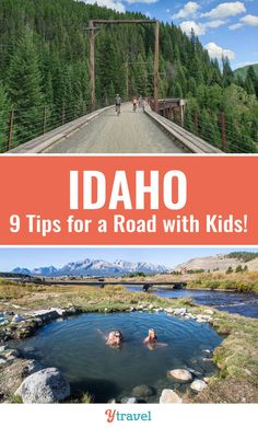 IF you are planning to visit Idaho, check out these 9 helpful tips for a memorable Idaho road trip with kids. From planning, to adventure activities, to places to visit in Idaho. This state is full of beauty and exploration for a top family vacation. #Idaho #travel #familytravel #vacations #roadtrips