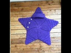 Crochet Patterns Sleeping Bag Crochet cocoon star baby very easy. Cocoon crochet star baby very easy, … Crochet Kids Scarf, Crochet Mittens Free Pattern, Crochet Baby Cocoon, Crochet For Beginners Blanket, Crochet Stars, Crochet Baby Booties, Crochet Patterns Amigurumi, Baby Blanket Crochet, Cocoon Bebe