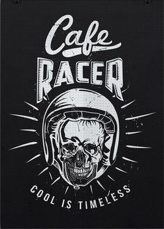 motomood:cafe racer poster idea #illustration #design #motorcycles #motos | caferacerpasion.com