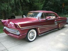1955 Mercury Montclair Custom Led Sled - Image 1 of 17
