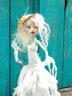 Agneta at Midsommarfest -  Monster High doll repaint - by Marina OOAK via Etsy