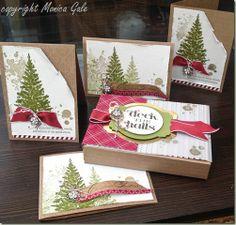 Christmas cards & box set