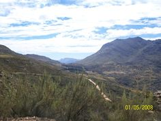 Awesome gravel mountain pass
