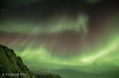 Auroras australes desde la isla de Macquarie (Australia) | El Universo Hoy
