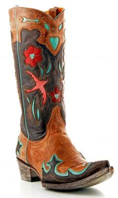 Old Gringo Golondrita Boots. These will be mine. Oh, yes...