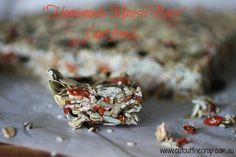 Hoemade Muesli Bars - nut free