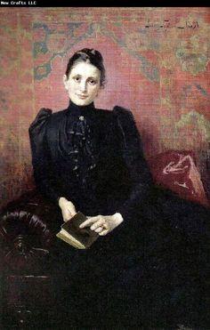 Sophie Lundberg by Jenny Nystrom, 1891