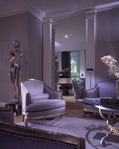 Geoffrey Bradfield | Luxury Interior Design | Designeru0027s Flat At The  Sherry Netherland