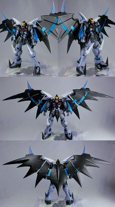 MG 1/100 Gundam Deathscythe Hell Custom 'Go to Hell' - Customized Build