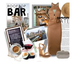 """Rooftop Bar Date"" by luvfashn ❤ liked on Polyvore featuring Rick Owens, Flora Bella, Ferrari, Inge Christopher, Pottery Barn, Christian Louboutin, Sempli, summerdate and rooftopbar"