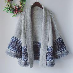 Ravelry: Boho style Mosaic Cardigan pattern by Irene Lin