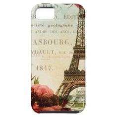 Vintage Eiffel Tower iPhone 5 Cover Case-Mate Vibe iPhone 5 Case