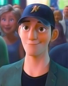Tadashi Hamada - I have such a crush on him. I'm a sucker for asians, great big brothers, intelligent, kind guys who also happen to be fictional. And in this case, animated