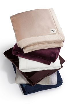 This ultra-soft UGG blanket is just the thing for cozying up with a book or a cup of hot cocoa on a chilly night.