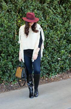 6 Ways To Wear Fringe - Tiffany Style Blog
