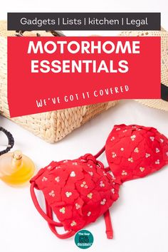 Wondering what to pack in your motorhome? We made a list of all of our essentials so you don't have to + a printable motorhome packing list to help you remember #motorhomeliving #motorhomepackinglist #motorhomeessentials Campervan Accessories, Motorhome Accessories, Rv Accessories, Motorhome Living, Motorhome Interior, Camping And Hiking, Hiking Gear, Motorhome Organisation, Printable Packing List