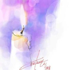 Lumière de Noël / Christmas's light (chrisaqua47) Tags: christmas light holiday watercolor candle lumière aquarelle card watercolour acuarela fête noël carte bougie cartedevoeux aquarello wishescard