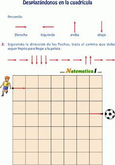 matematica1.com desplazamiento-en-la-cuadricula-del-plano-actividades-y-ejercicios-de-primero-de-primaria-en-pdf Pixel Art, 1, Coding, Chart, Image, Logan, Montessori, Mario, Google