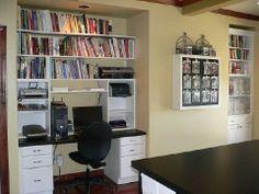 A Scrapbook of Me: Sorting Saturday - Making a Scrapbooking Area