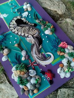 Undersea Quilling - by: Branka Miletic´