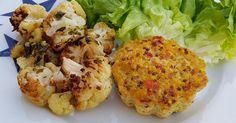 moelleux au quinoa & chou fleur rôti | Ma p'tite cuisine