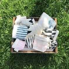 Cachepot quadrado Mini Stripes | Bagtton