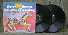 Remember the Classic songs from you're childhood? Why not introduce them to your kids? Children of all ages will love singing and dancing to the over 80 songs on this 2 record collection. There are many favorites such as Pop Goes The Weasel, Home On The Range and Boom Boom Ain't It Great To Be Crazy, to name a few.