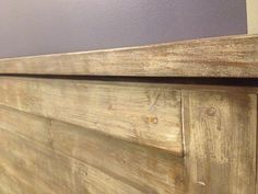 King Whitewashed Driftwood Headboard WE SHIP by TwitchinWillows, $310.00