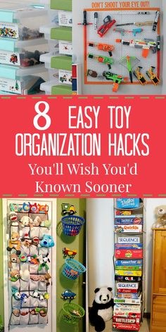 Toy Organization | Toy Storage | Organize Kids Rooms | Organized Playroom | Playroom Organization