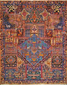"Buy Kashmar Persian Rug 9' 11"" x 12' 10"", Authentic Kashmar Handmade Rug"
