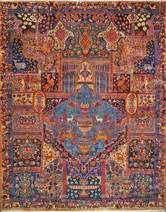 "Kashmar Persian Rug, Buy Handmade Kashmar Persian Rug 9' 11"" x 12' 10"", Authentic Persian Rug  $3,289.50"