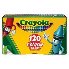 Crayola 120ct Crayon Box