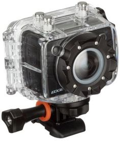 Kitvision Edge Waterproof Full HD Action Camera with Mounting Accessories and Waterproof Diving Case - Black (Discontinued by Manufacturer) Wide Angle Lens, Technology Gadgets, Hd 1080p, Wifi, Action, Stuff To Buy, Black, Diving