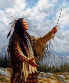 """""Prayer to the Great Spirit"" by James Ayers"