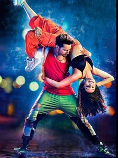 trailer attached to Will be out digitally on 18 Dec Stars Varun Dhawan, Shraddha Kapoor, Prabhu Dheva and Nora Fatehi. Directed by Remo D'Souza. Bollywood Pictures, Bollywood Actress Hot Photos, Beautiful Bollywood Actress, Bollywood Actors, Bollywood Celebrities, Varun Dhawan News, Varun Dhawan Photos, Movie Couples, Cute Couples