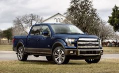 I love these new Fords! I saw a comercial for em today when I was watching the Built Ford Tough PBR on tv ? Cool Trucks, Pickup Trucks, F150 Truck, Farm Trucks, Ford F150 King Ranch, 2015 Ford F150, Ford Girl, Future Trucks, Us Cars