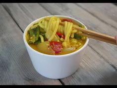 Vegan Curry Udon | 비건 커리 우동 #dayesmmshik