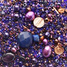 Bead Soup Collection Velvet Cloak Beads Bead by BeverlyAshGilbert