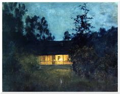 PERSONA E COMUNITA'.: Isaac Levitan, In campagna al tramonto
