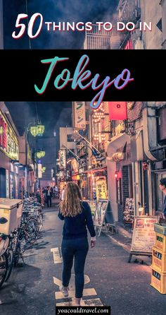 The best 50 things to do in Tokyo - Wondering what are the best things to do in Tokyo? Here is a list of all the best 50 things to do, including what to see and do. A fun list full of unique activities which will help you better prepare for a trip to Tokyo. Click to read more! #japan #tokyo #guide