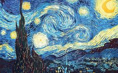 "Vincent Van Gogh died having sold just one painting during his lifetime.  He committed suicide with little recognition of his life's work, and we're only just beginning to realize what a true genius he really was. His famous 1889 painting, ""The Starry Night"" — where light and clouds flow in"