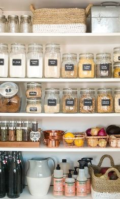 Organization Orgasms: 21 Well-Designed Pantries You'd Love to Have in Your Kitchen | Apartment Therapy #kitchenorganizing #kitchenorganization