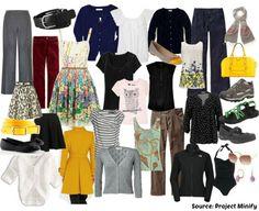 Exemple d'une garde robe d'été inspirée par le projet 333: 33 pièces pour 3 mois