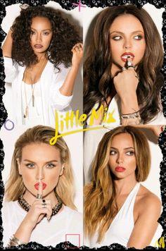 Nueva foto de una pagina del Calendario Oficial de Little Mix 2016
